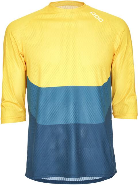 POC Essential Enduro 3/4 Light Jersey Men sulphite multi yellow